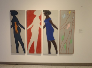 Michael Snow: Four Grey Panels and Four Figures