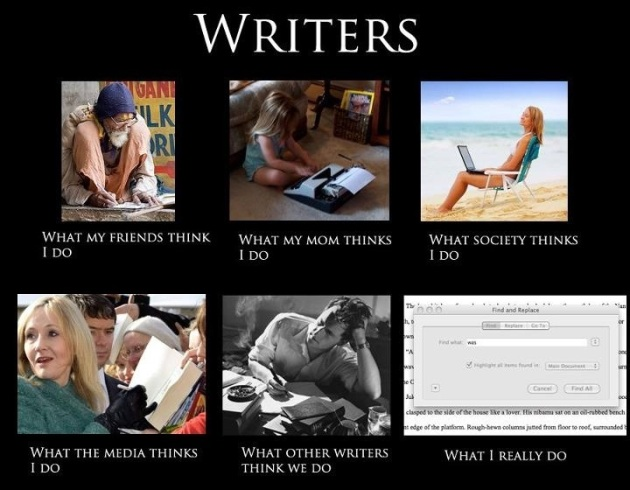 What writers do