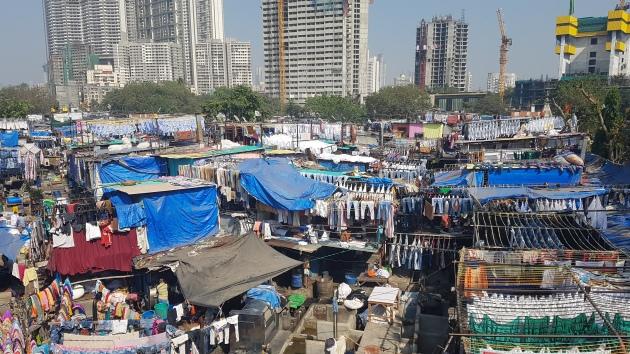 Slums in Mombai